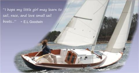 I hope my girl will learn to sail